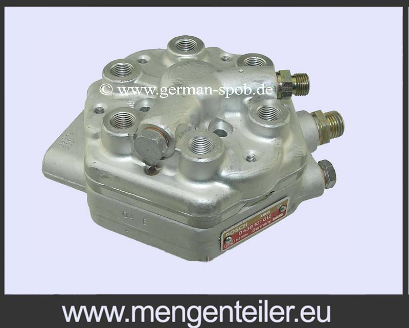 0438101011 Distributor paliva Bosch | MERCEDES BENZ | 0 438 101 011 Fuel Distributor MERCEDES-BENZ