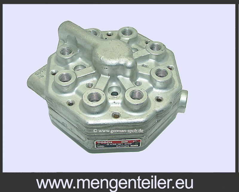 0438101040 Distributor paliva Bosch | Opravit | BENTLEY | 0 438 101 040 Fuel Distributor BENTLEY