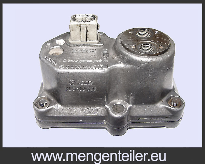 0438140118 Bosch Regulátor warm up | AUDI VW | 0 438 140 118 | Warm up regulator  - mengenteiler.eu